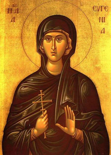 Saint Eugenia falsely accused of rape