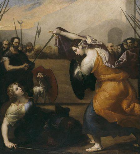ladies dueling