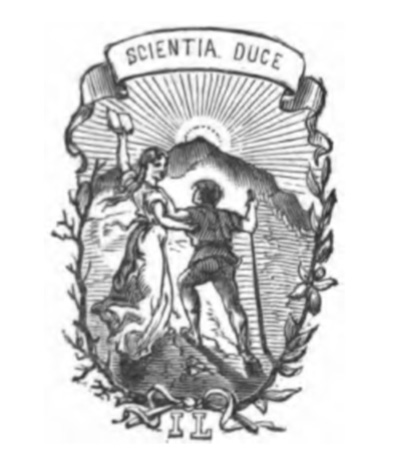 Scientia Duce -trade slogan of Isidore Liseux
