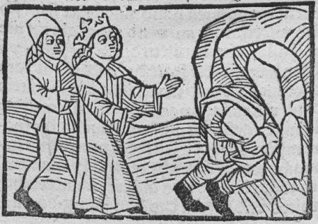 Marcolf mooning Solomon