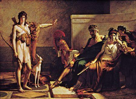 Hippolytus refusing Phaedra