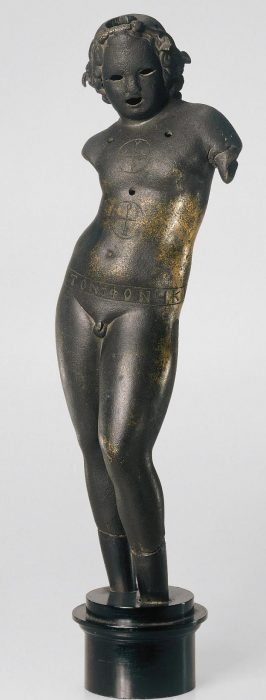 Christian Dionysos statuette from Hermitage