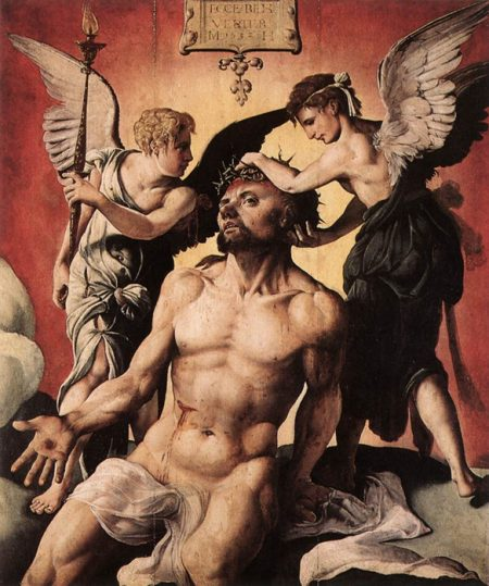 Christ, man of sorrows, by Maerten van Heemskerck