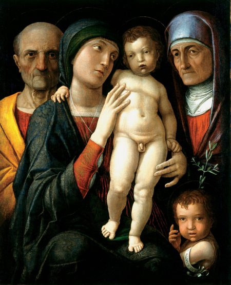 the Holy Family, Andrea Mantegna