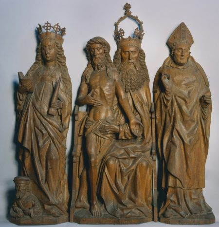 throne of grace, medieval carving