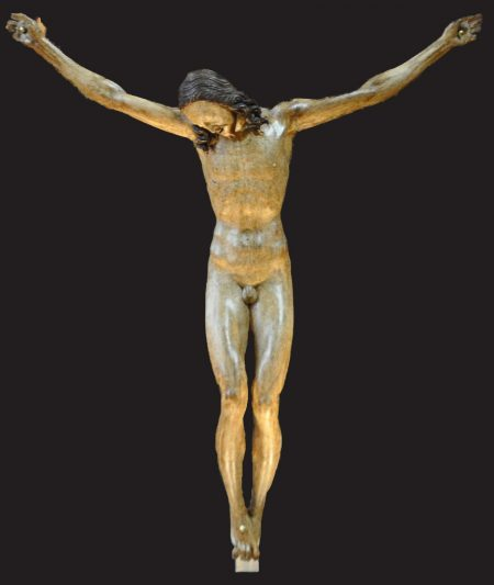 Gallino crucifix, attributed to Michelangelo
