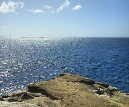 expansive ocean vista