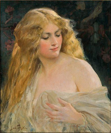 Calypso, blonde goddess