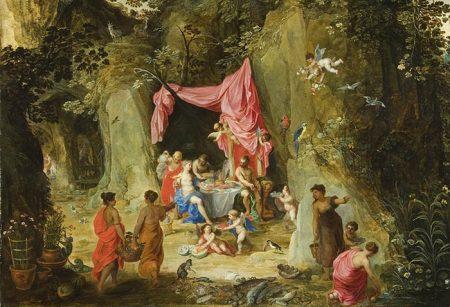 Fantasy of Odysseus in Calypso's captivity