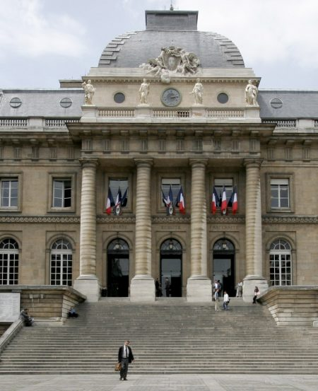 Palace of Justice in Paris