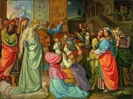 Jesus and the wise and foolish virgins