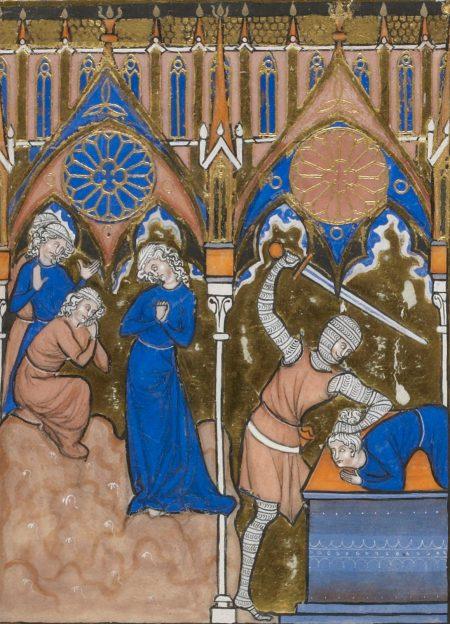 Jephthah sacrificing his daughter