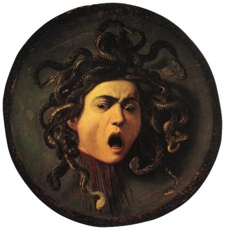 modern head of Medusa