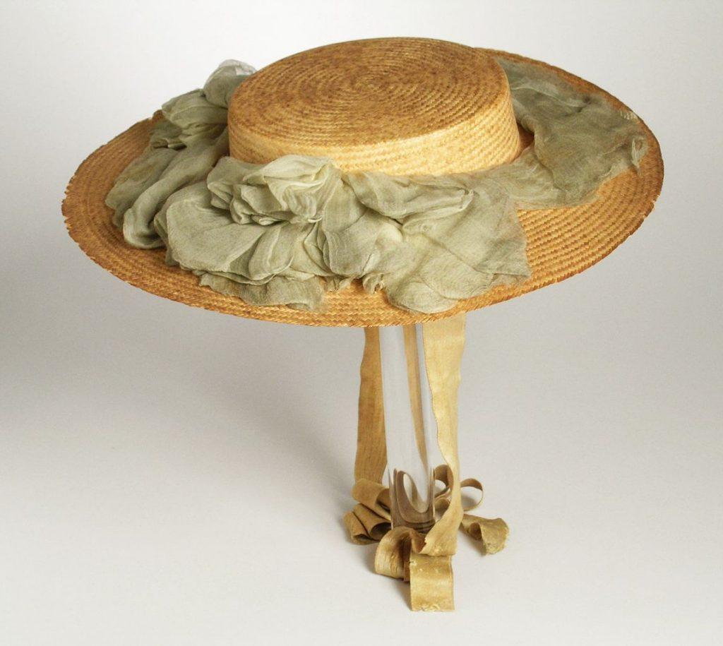 woman's fancy hat