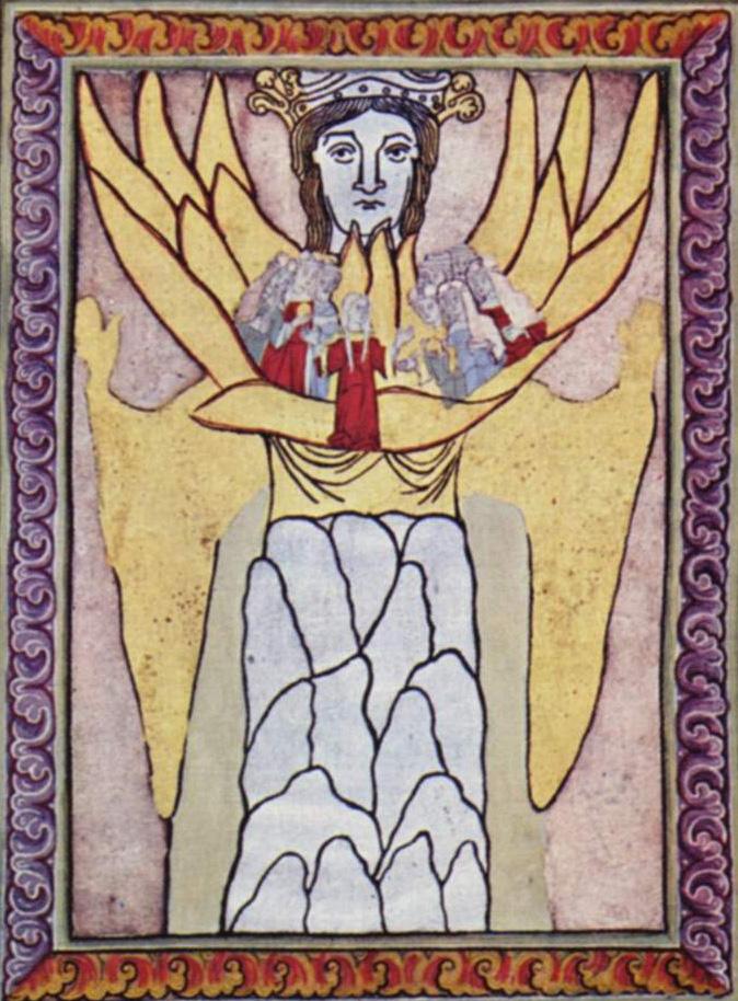 Hildegard's depiction of ecclesia (church)