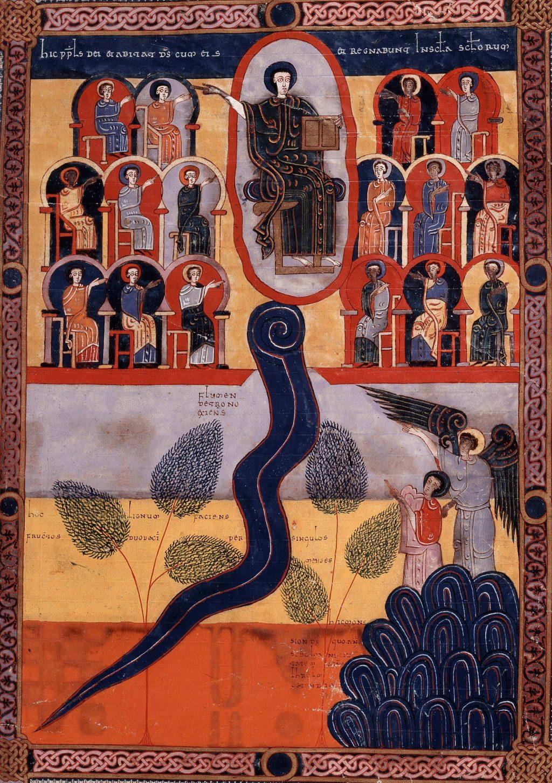 heavenly Jerusalem, in Beatus by Facundus