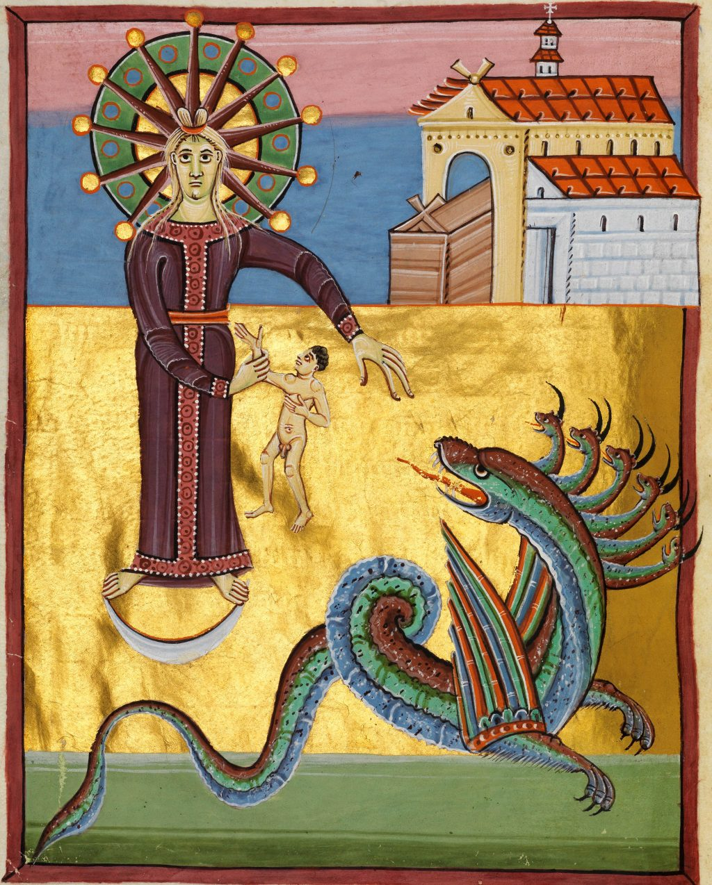 Revelation 12: woman versus dragon