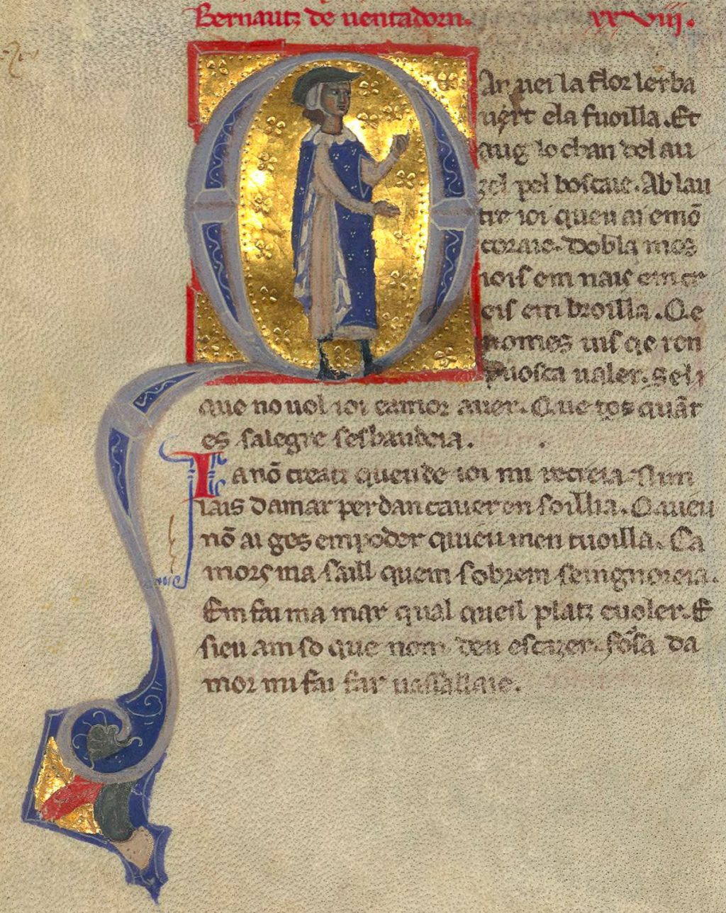 Bernart de Ventadorn, troubadour