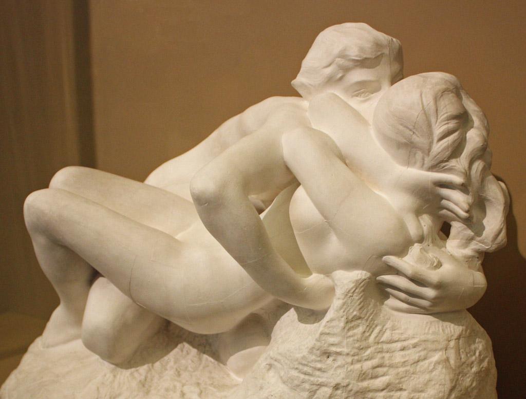 Metamorphoses: two women embracing