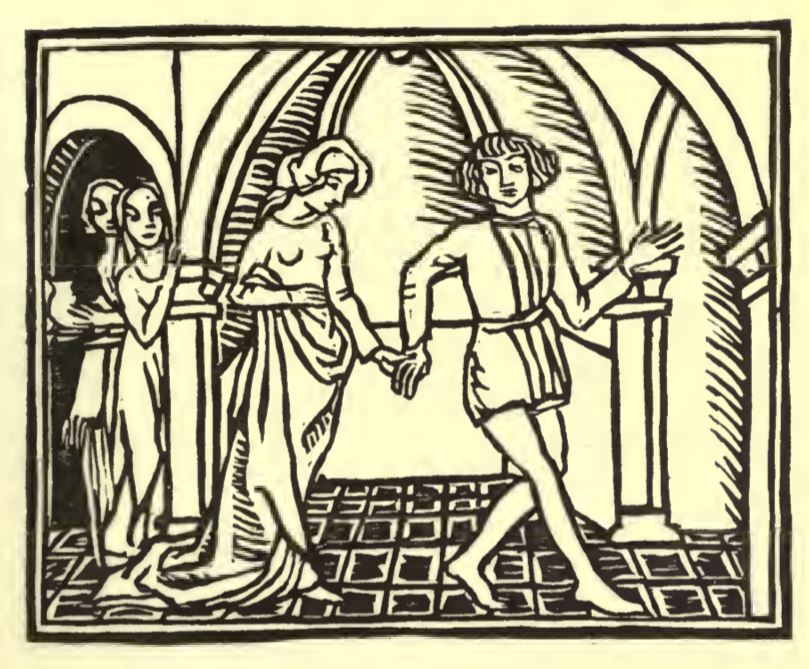 Flamenca & Guillem go from baths through tunnel to inn