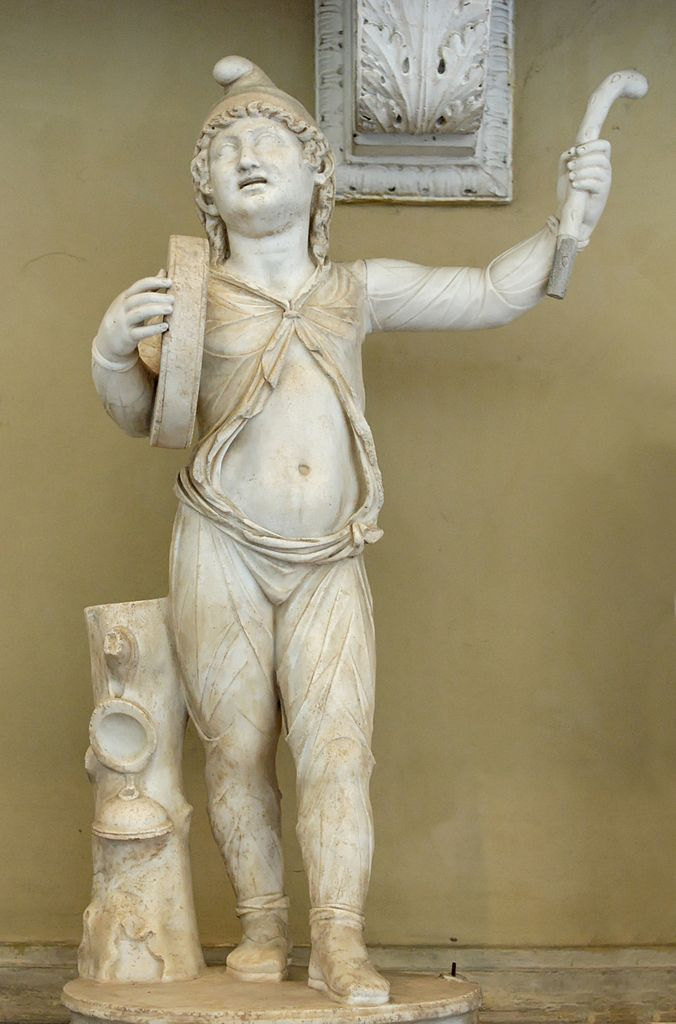 Attis dancing for Great Mother goddess Cybele