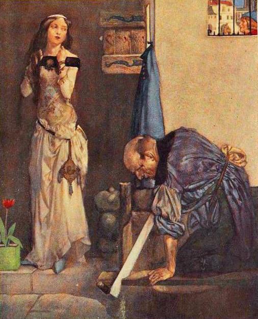 Chaucer, Miller's Tale: Alisoun & husband John