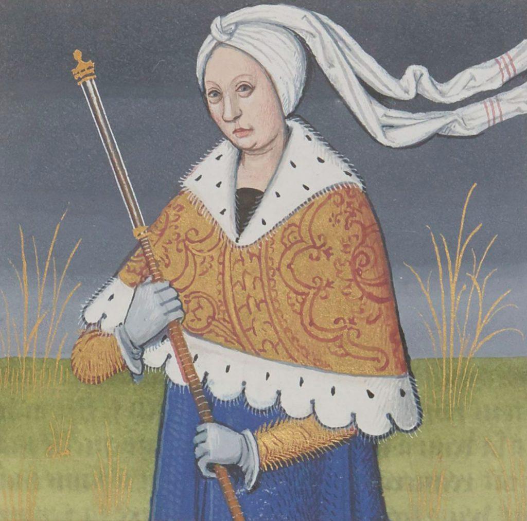 Lavinia, who loved Aeneas
