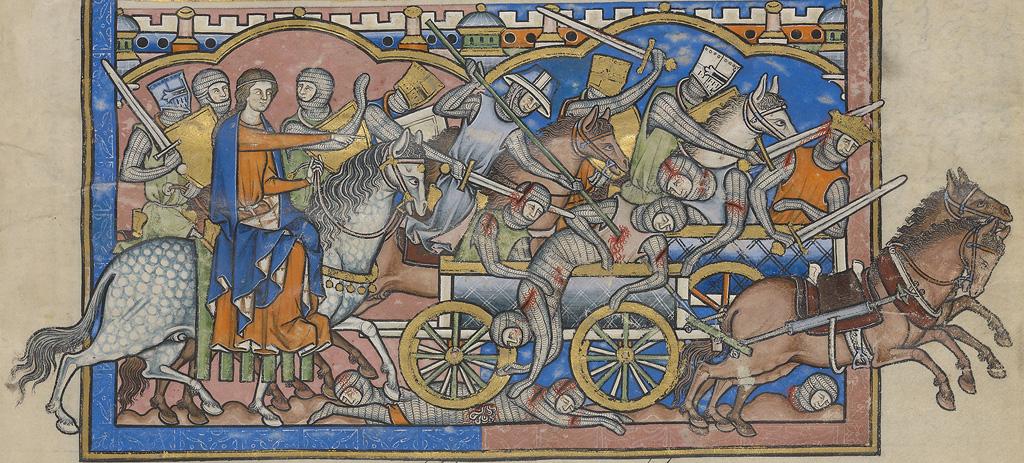 Deborah directs Barak's men to kill Sisera's men