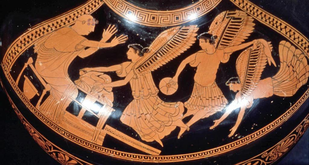 Harpies attack Phineus