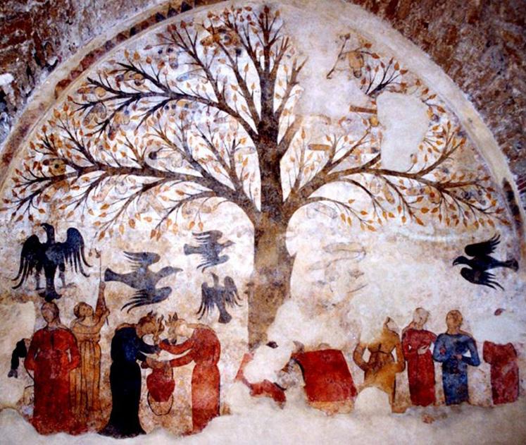 medieval penis-tree / tree of life