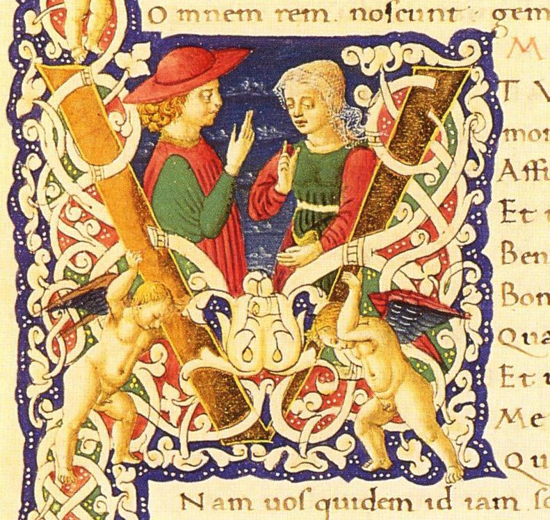 Alcmene and Amphitryon from Plautus's Amphitryon