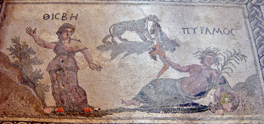 ancient Greek myth of Pyramus and Thisbe before Ovid