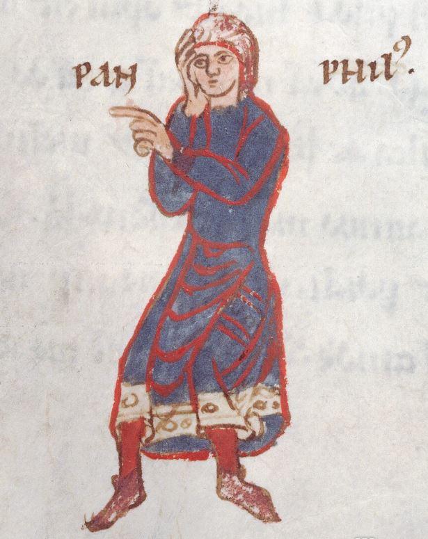 Pamphilus in Plautus's Andria