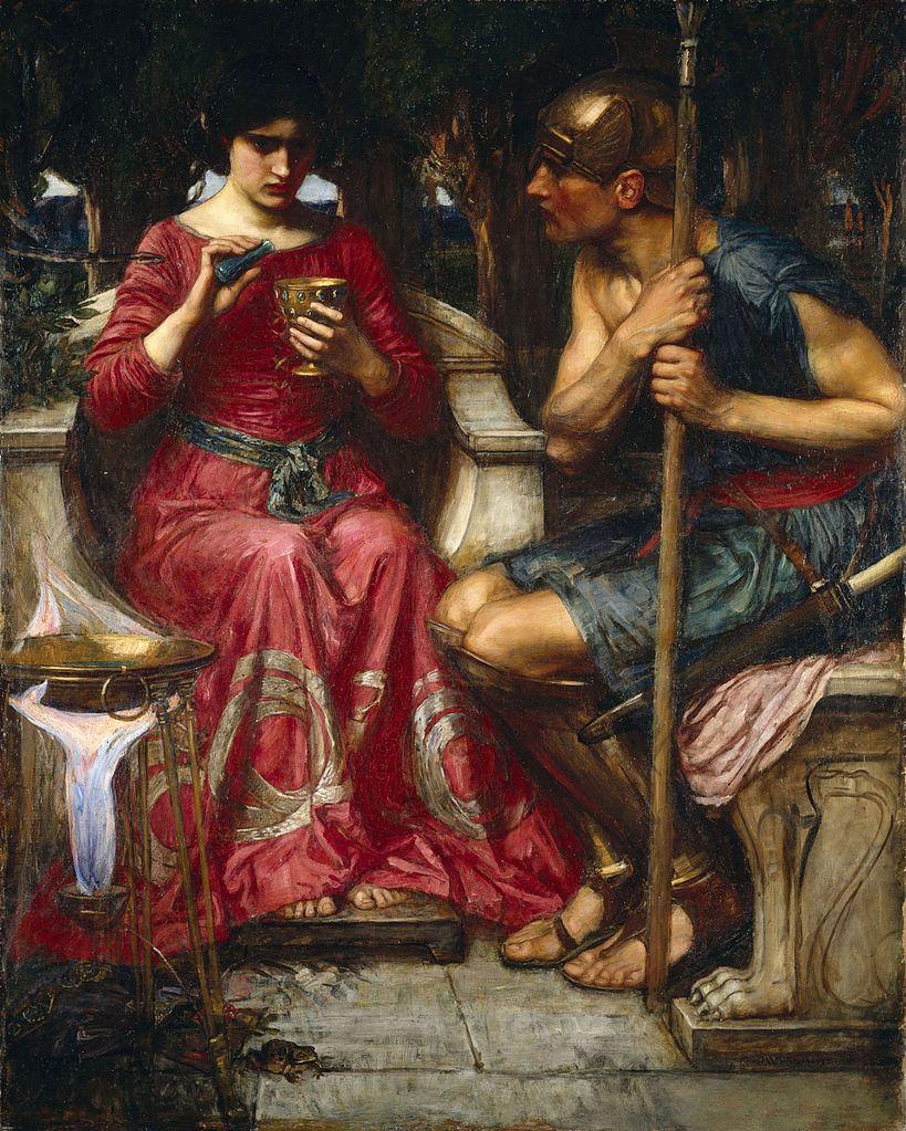 Medea and Jason in the Roman de Troie